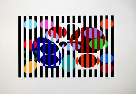 Serigrafía Agam - Composition 2