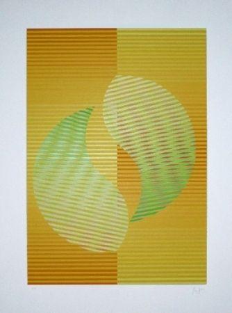 Serigrafía Sempere - Composition 2