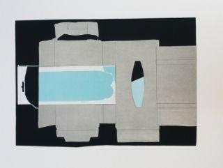 Litografía Garcia Ponce - Composition 2