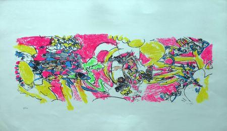 Litografía Matta - Composition 2