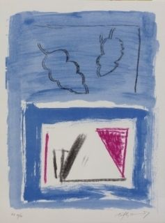 Litografía Ràfols Casamada - Composition 21
