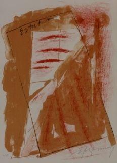 Litografía Ràfols Casamada - Composition 22