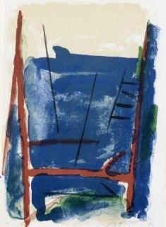 Litografía Ràfols Casamada - Composition  25