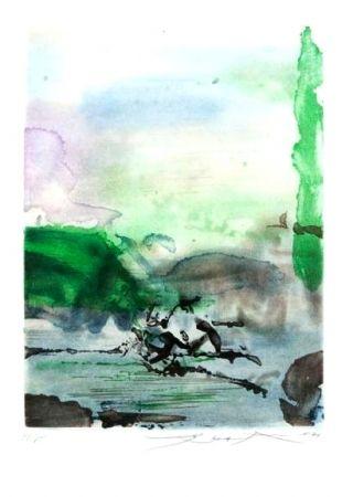 Aguafuerte Y Aguatinta Zao - Composition 258
