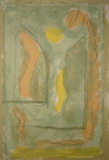 Litografía Ràfols Casamada - Composition 26