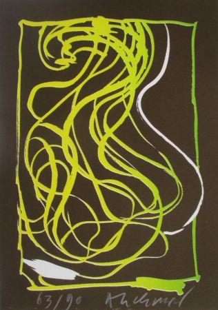 Litografía Alechinsky - Composition 2/8