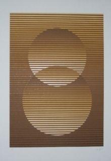 Serigrafía Sempere - Composition 3