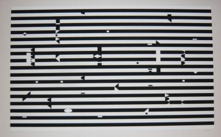 Serigrafía Agam - Composition 3