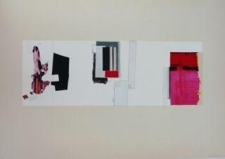 Litografía Garcia-Ponce - Composition 3
