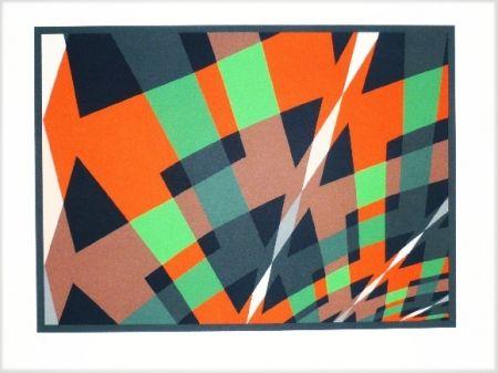 Litografía Hinterreiter - Composition 3