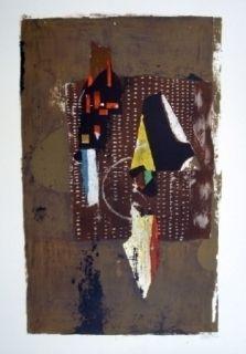 Litografía Friedlaender - Composition 30
