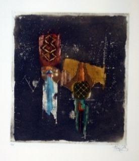 Grabado Friedlaender - Composition 37
