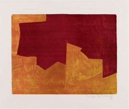 Litografía Poliakoff - COMPOSITION 39