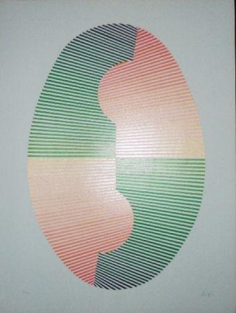 Serigrafía Sempere - Composition 4