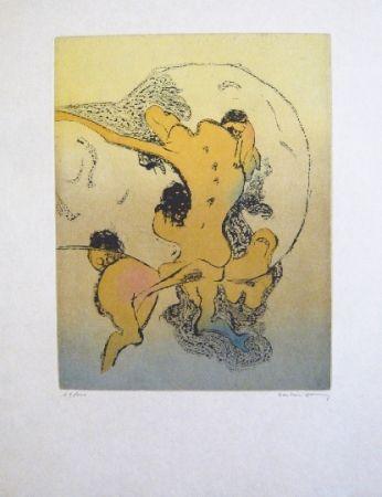Aguafuerte Y Aguatinta Tanning - Composition 4