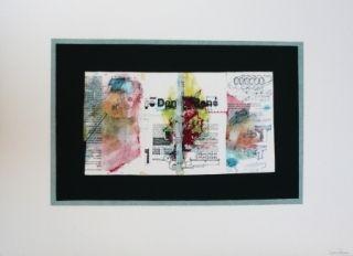 Litografía Garcia Ponce - Composition 4