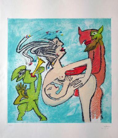 Aguafuerte Matta - Composition 4