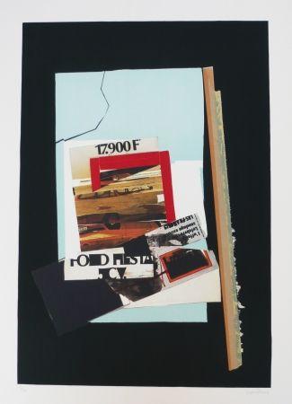 Litografía Garcia Ponce - Composition 5