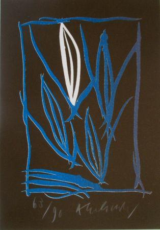 Litografía Alechinsky - Composition 6/8