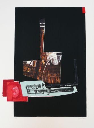 Litografía Garcia Ponce - Composition 7