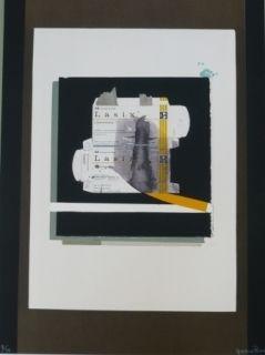 Litografía Garcia Ponce - Composition 8