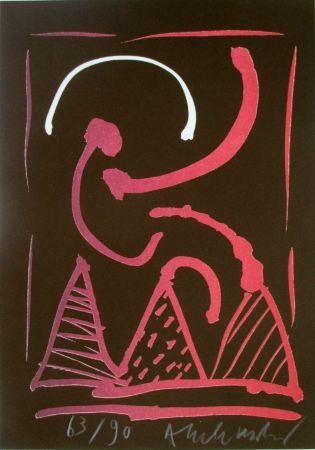 Litografía Alechinsky - Composition 8/8