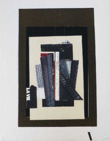 Litografía Garcia Ponce - Composition 9