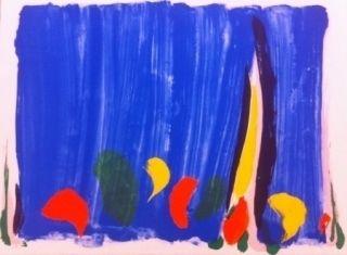 Litografía Debré - Composition abstrait