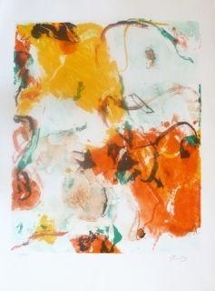 Litografía En Jong - Composition Abstraite