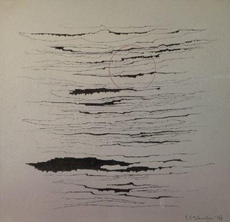 Monotipo Tutundjian - Composition abstraite /Abstrakte Komposition