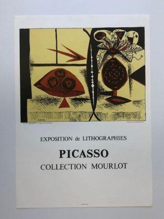 Cartel Picasso - Composition au vase de fleurs