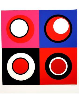 Litografía Claisse - Composition cinétique