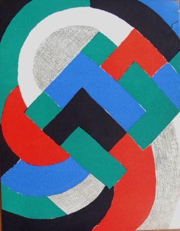 Litografía Delaunay - Composition du XXe Siecle