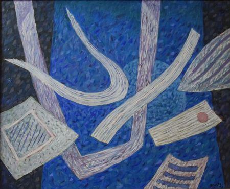 Sin Técnico Goetz - Composition en bleu