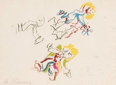 Litografía De Kooning - Composition for Lisa
