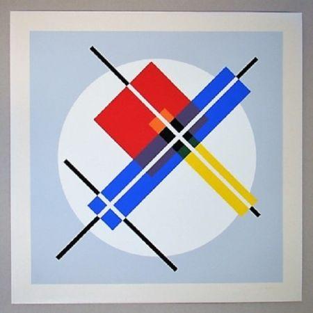 Serigrafía Gorin - Composition géométrique