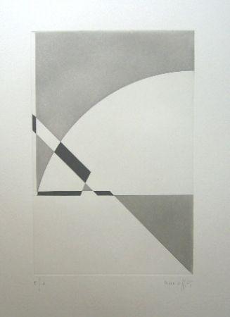 Grabado Honegger - Composition géométrique 3