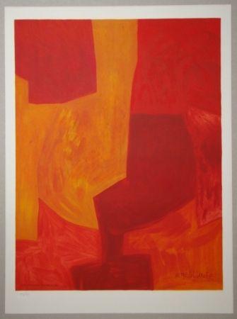 Litografía Poliakoff - Composition gouache 1969