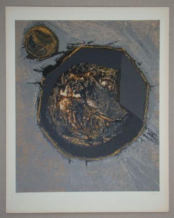 Serigrafía Piaubert - Composition II. - 1964
