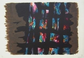 Litografía Manessier - Composition III