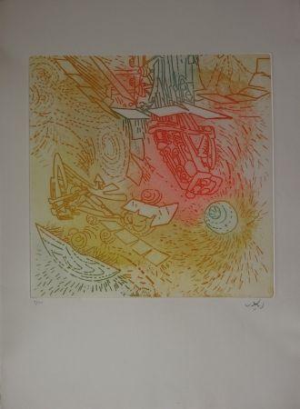 Aguafuerte Y Aguatinta Matta - Composition / Iolas