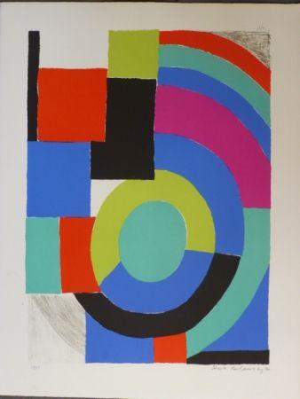 Litografía Delaunay - Composition orphique