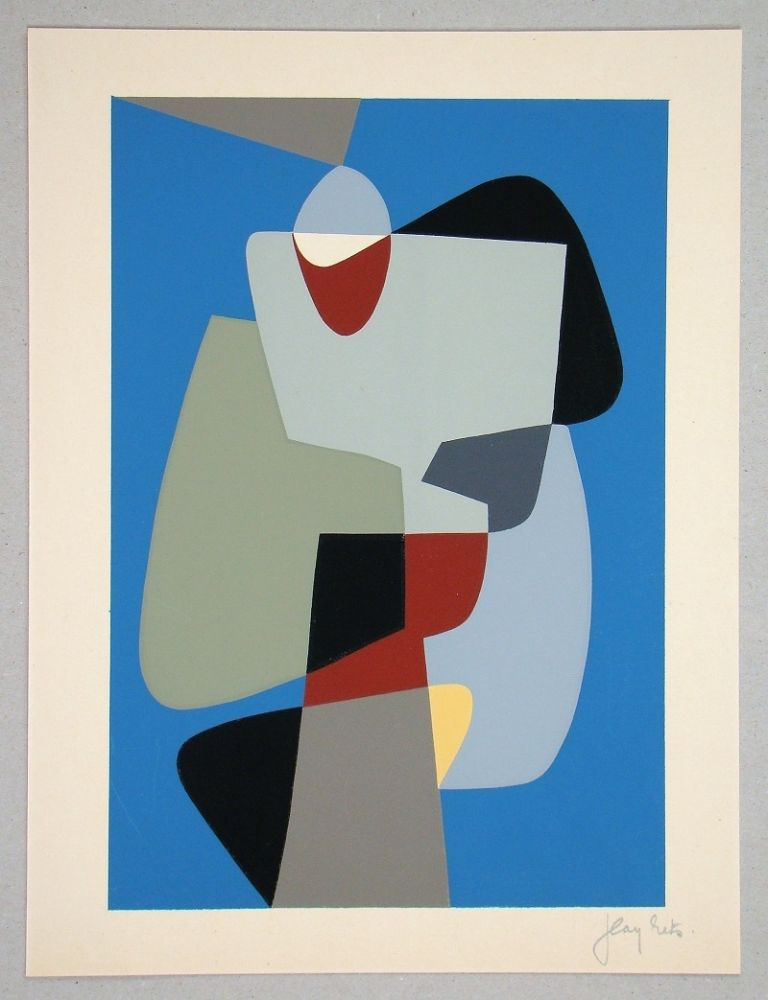 Serigrafía Rets - Composition pour Art Abstrait