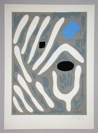 Litografía Milo - Composition pour Art Abstrait
