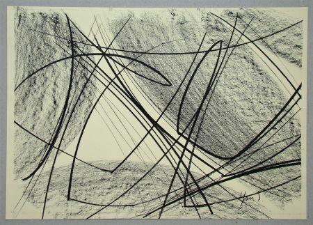 Litografía Saverys - Composition pour Art Abstrait