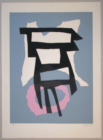Serigrafía Jacobsen - Composition pour Le Fer et le Feu
