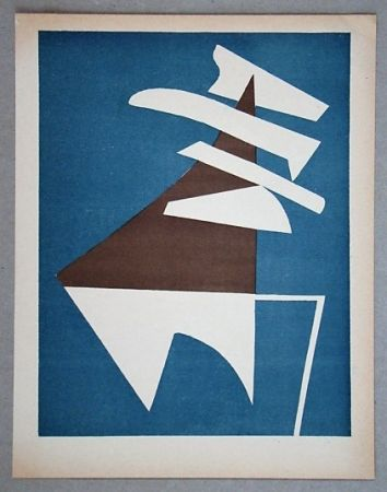 Litografía Magnelli - Composition pour XXe Siècle