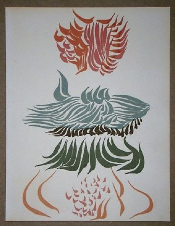 Litografía Herold - Composition pour XXe Siècle
