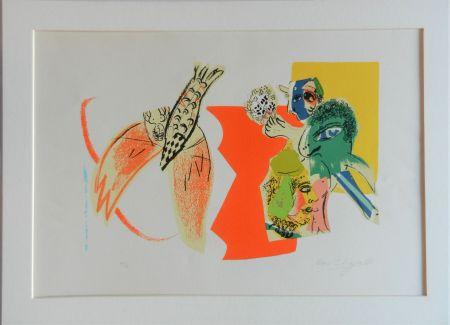 Litografía Chagall - Composition pour XXe Siècle