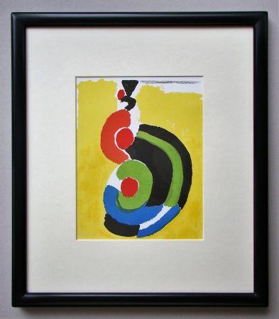 Litografía Delaunay - Composition pour XXe Siècle